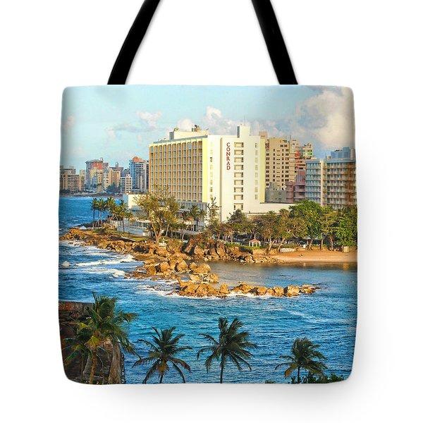 Hilton Conrad Tote Bag by Daniel Sheldon