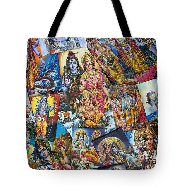 Hindu Deity Posters Tote Bag