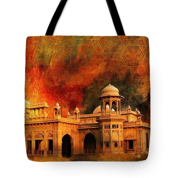 Hindu Gymkhana Tote Bag by Catf