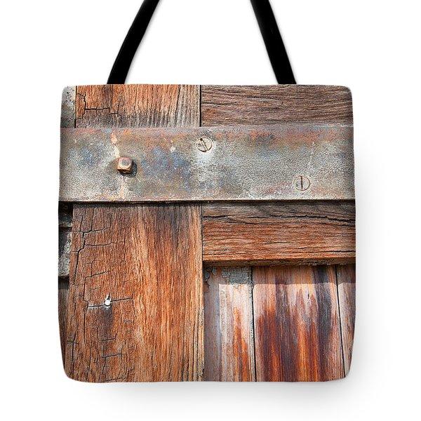 Hinge Door  Tote Bag
