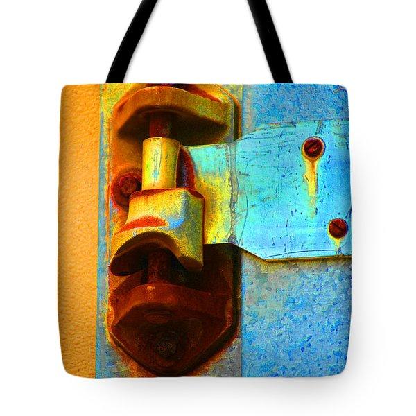 Hinged  Tote Bag