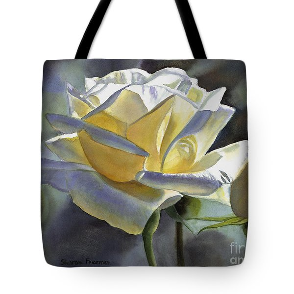 Hint Of Gold Tote Bag
