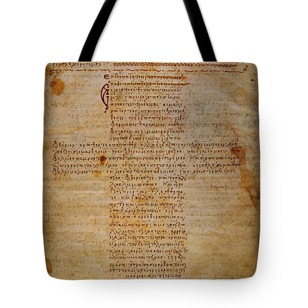 Hippocratic Oath Tote Bag by Granger