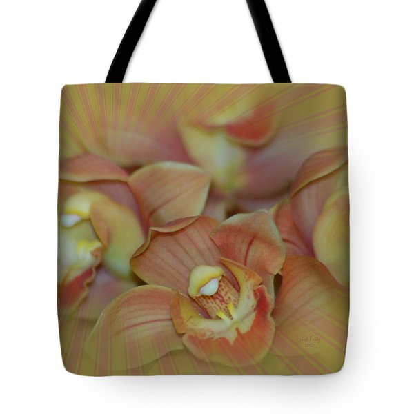 Hippy Orchid Tote Bag