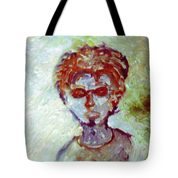 Hipster Tote Bag by Shea Holliman