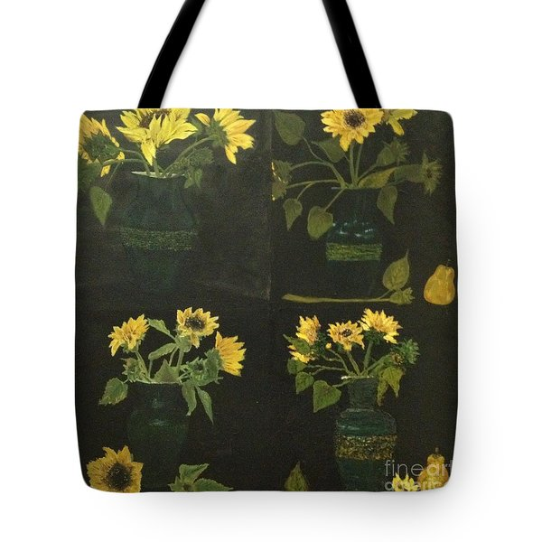 Tote Bag featuring the painting Hirasol by Vanessa Palomino