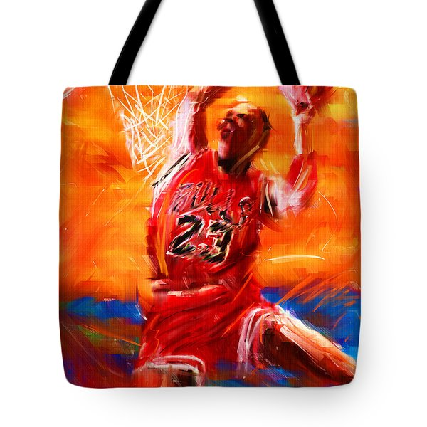 His Airness Tote Bag