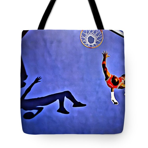 His Airness Michael Jordan Tote Bag