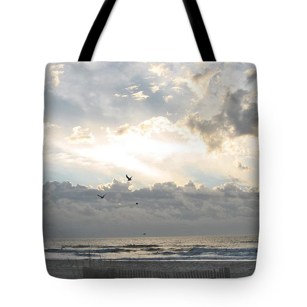 Tote Bag featuring the photograph His Glory Shines by Judith Morris