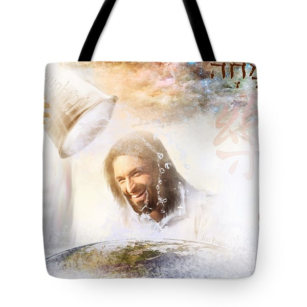 His Joy Tote Bag