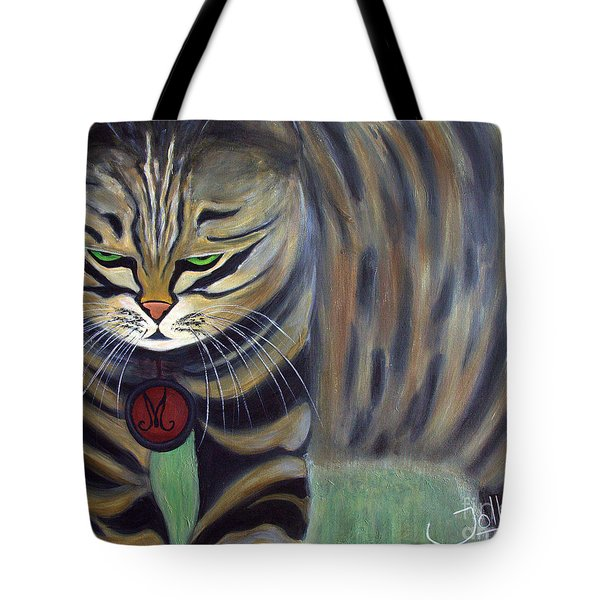 His Lordship Monty Tote Bag