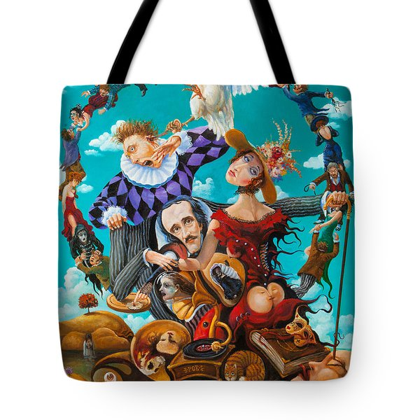 His Majesty Edgar Allan Poe Tote Bag