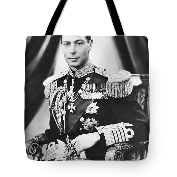 His Majesty King George Vi Tote Bag