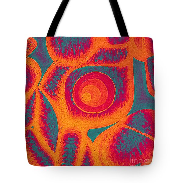 His Navel Flames Tote Bag by Feile Case