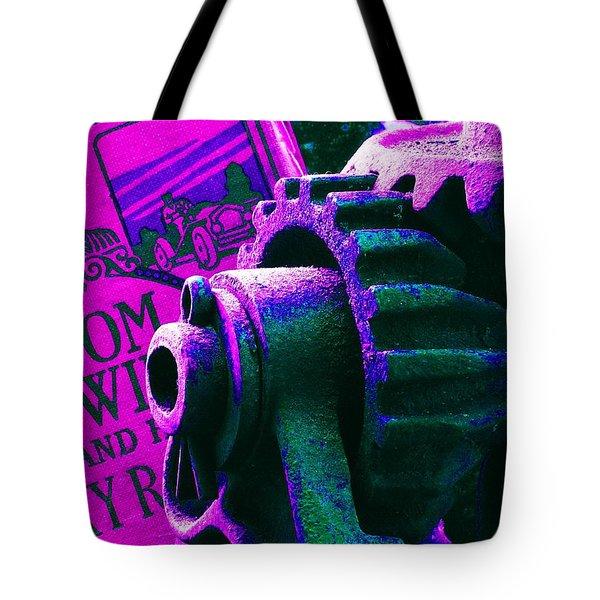 His Sky Racer... Tote Bag
