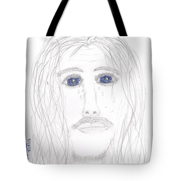 His Tears Tote Bag by Shannon Redwine