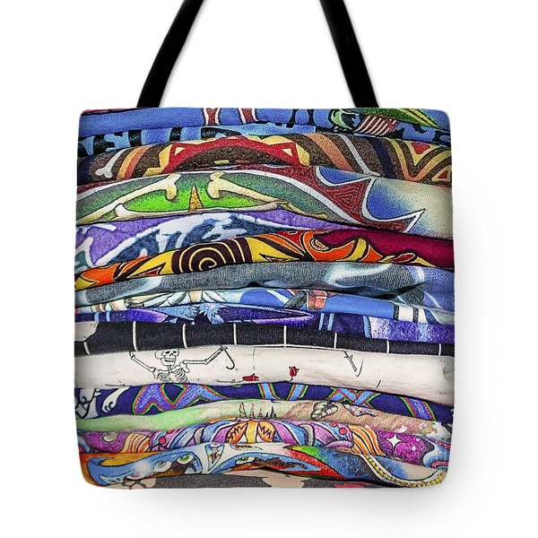 His Tshirt Collection Tote Bag by Janice Rae Pariza