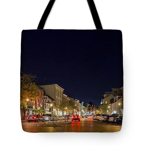 Historic Annapolis - Pano Tote Bag