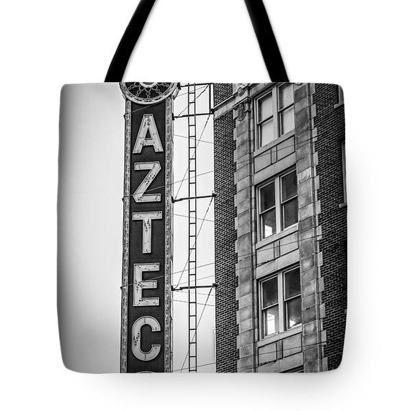 Historic Aztec Theater Tote Bag