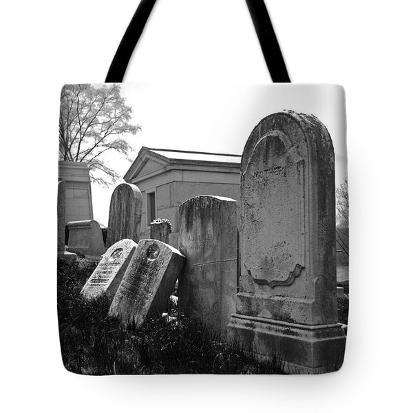 Historic Cemetery Tote Bag by Jennifer Ancker