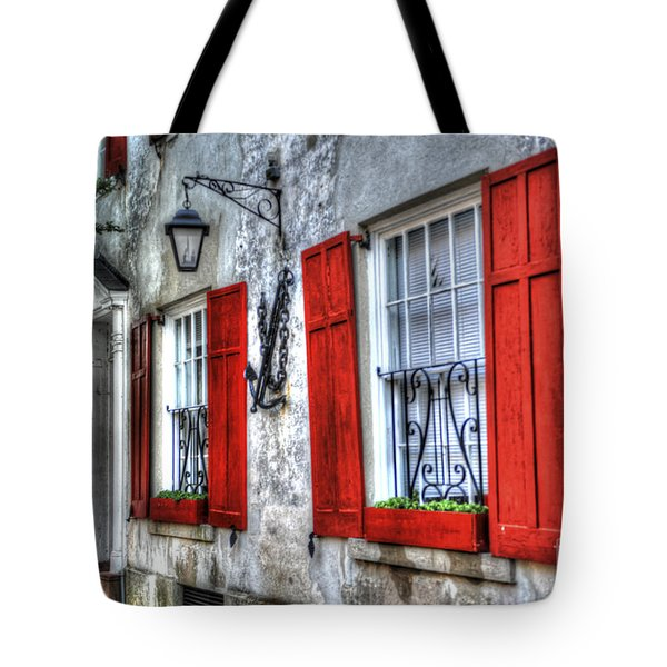 Historic Charleston Pirates House Tote Bag