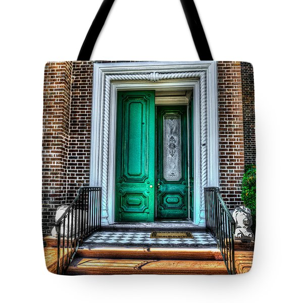 Historic Charleston Sc Door Tote Bag