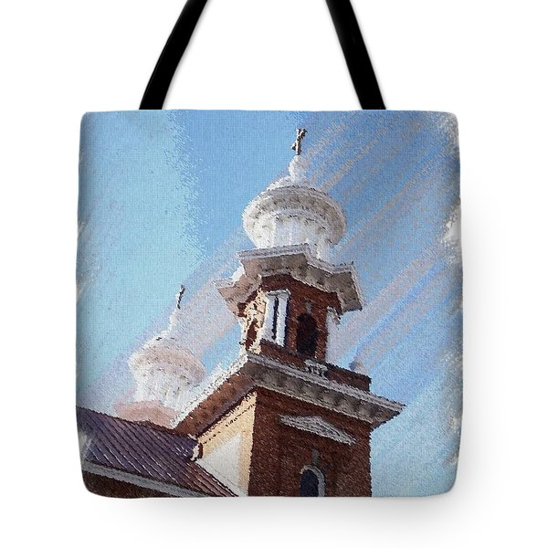 Historic Church Steeples Tote Bag
