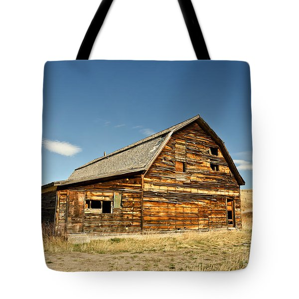 Tote Bag featuring the photograph Historic Community Hall by Sue Smith