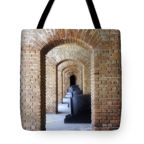 Tote Bag featuring the photograph Historic Hallway by Laurie Perry