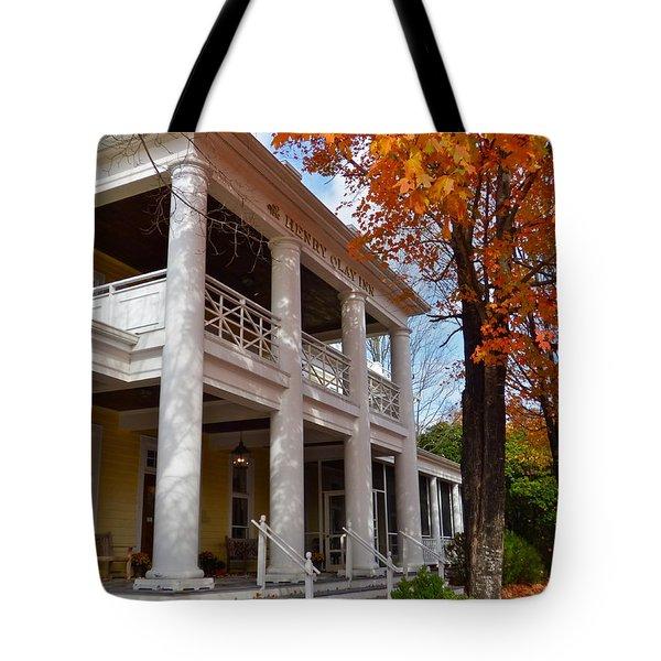 Historic Inn In Ashland Va Tote Bag