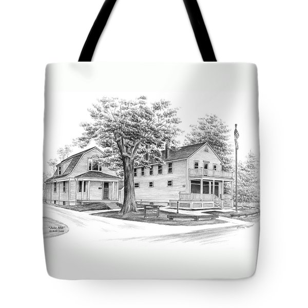 Historic Jaite Mill - Cuyahoga Valley National Park Tote Bag