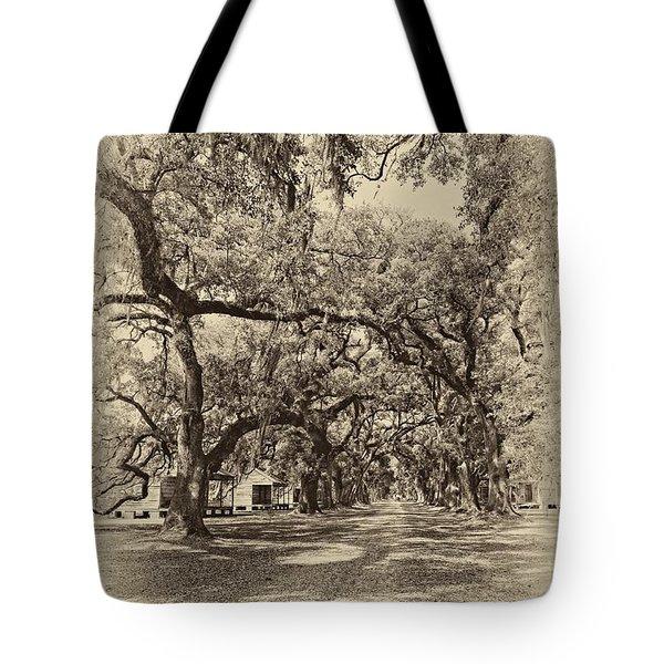 Historic Lane Antique Sepia Tote Bag by Steve Harrington