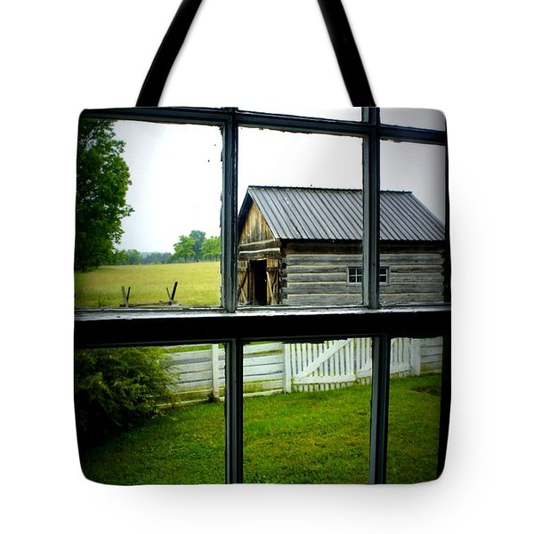 Tote Bag featuring the photograph Historic New Market by Laurie Perry