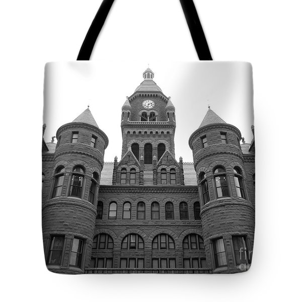 Tote Bag featuring the photograph Historic Old Red Courthouse Dallas #2 by Robert ONeil
