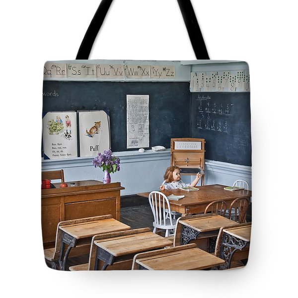 Historic School Classroom Art Prints Tote Bag