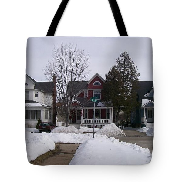 Historic Seventh Street Menominee Tote Bag