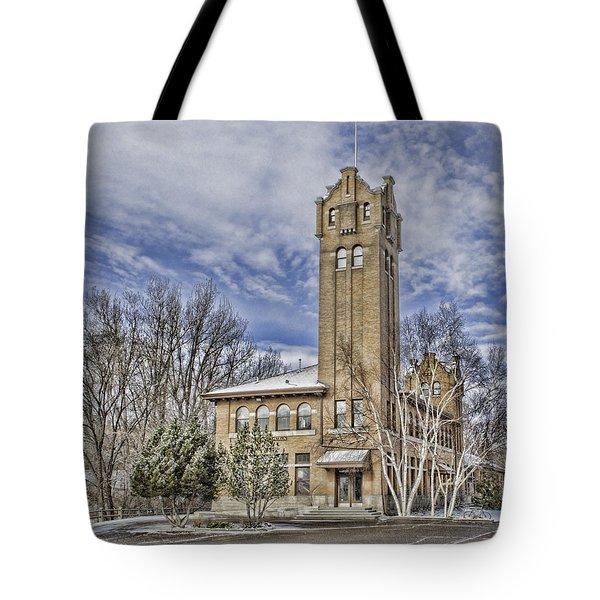 Historic Train Station Tote Bag by Fran Riley