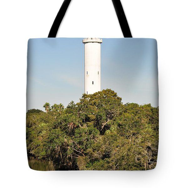 Historic Water Tower - Sulphur Springs Florida Tote Bag