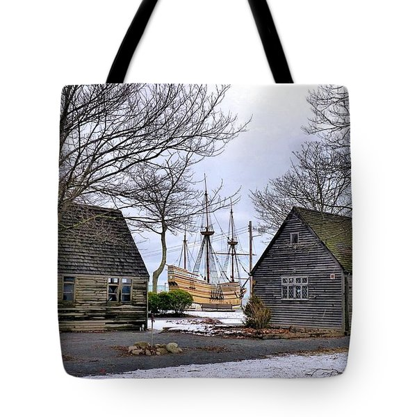 Historic Waterfront Tote Bag