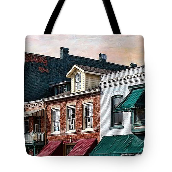 Historic Weston Tote Bag by Liane Wright