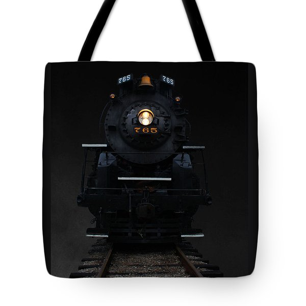 Historical 765 Steam Engine Tote Bag by Rowana Ray