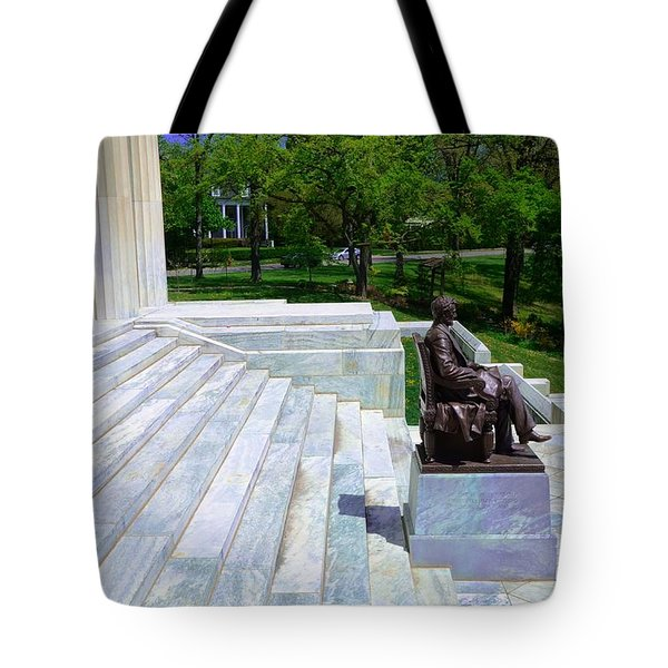Historical Museum Building Of Buffalo Tote Bag by Kathleen Struckle
