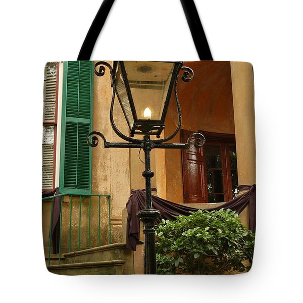 Historical Gas Light Tote Bag