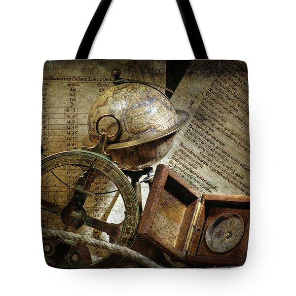 Historical Navigation Tote Bag