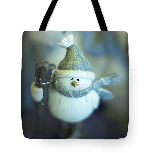 Hit The Slopes Tote Bag
