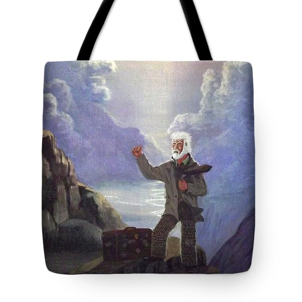 Hitchhiker Tote Bag by Richard Faulkner