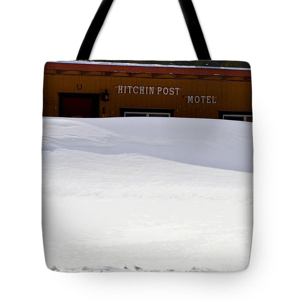 Hitchin' Post April Tote Bag