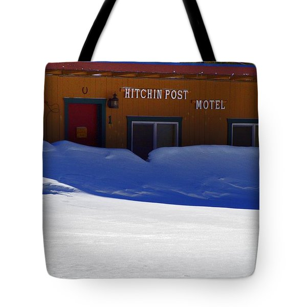 Hitchin' Post March Tote Bag