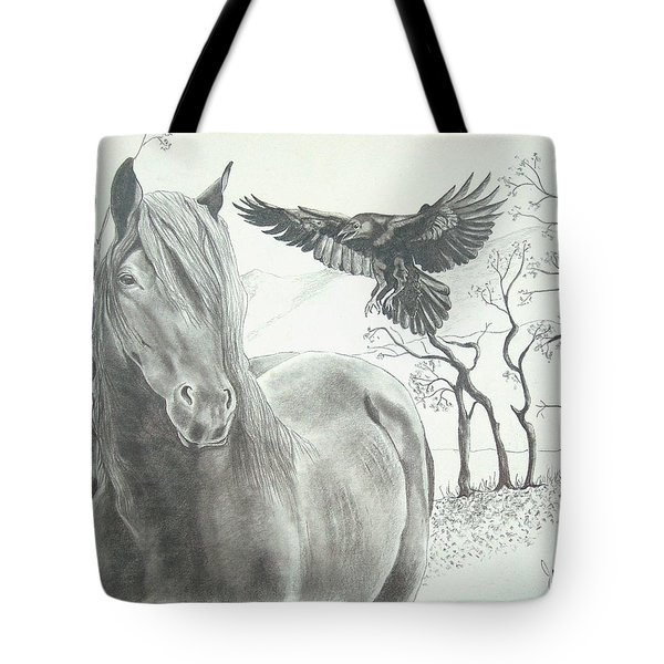 Hitch'n A Ride Tote Bag