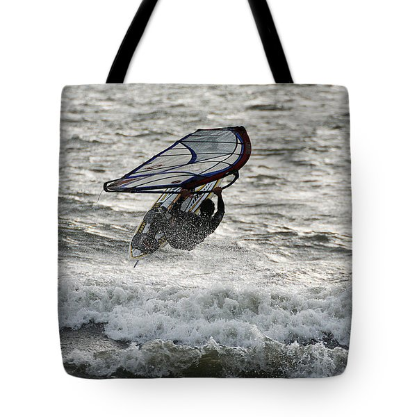Hitting A Wave 2 Tote Bag